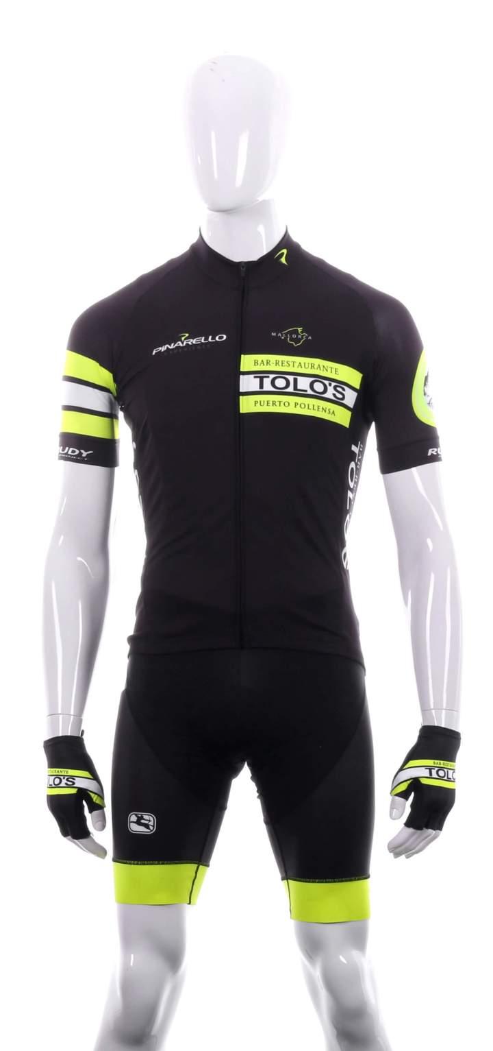 1. Front Jacket Tollo's Kit