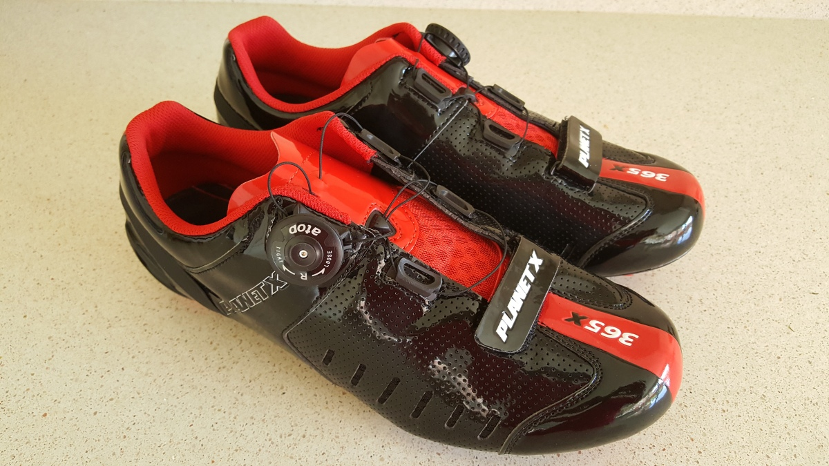 Planet X makes cycling shoes for every cycling discipline; in our road shoes selection, you'll find cycling footwear for racing, TT and Tri and general recreational cycling. Our own brand shoes offer exceptional value for money, fusing advanced materials technology and construction with traditional craftsmanship to make a better cycling shoe.