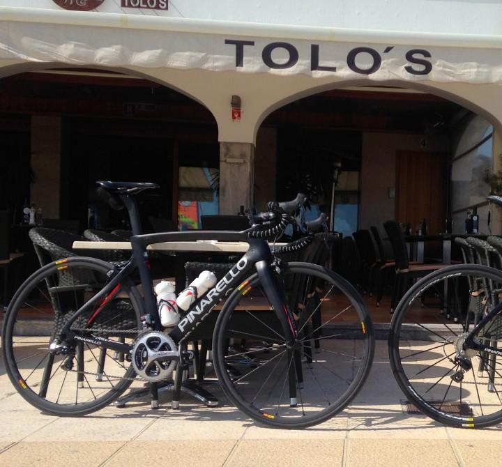 bike ouside Tolo's