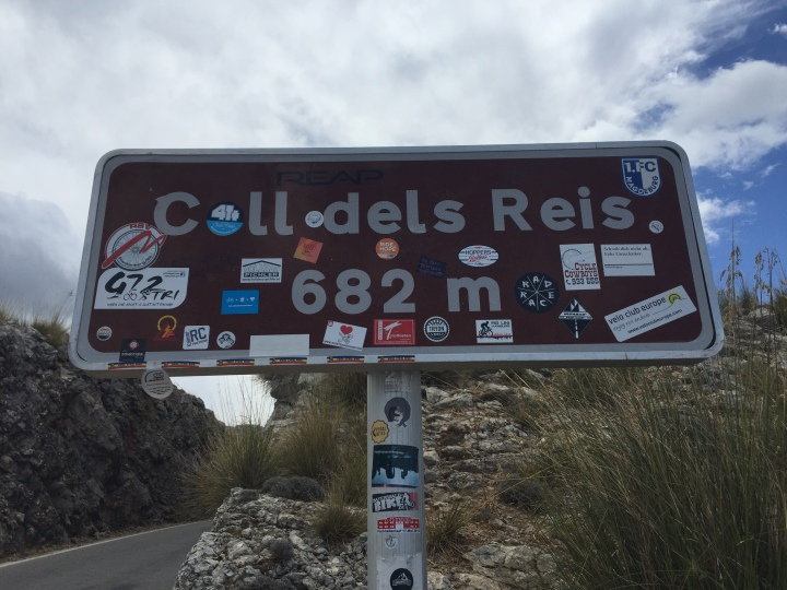 Coll dels Reis sign